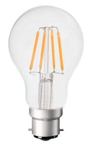Ampoule LED à filament B22 5W Blanc chaud