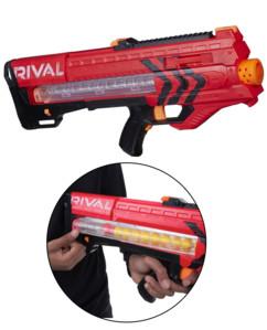 Blaster Nerf Rival Zeus MXV 1200 - Rouge Nerf