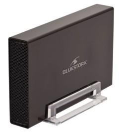 boitier pour disque dur 3,5 pouces ide sata jusqu'à 3 to avec port usb 3.0 bluestork BS-EHD-35/COMBO/30