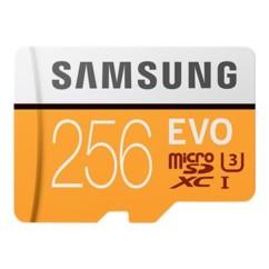 Carte Micro SDXC 256 Go Samsung EVO