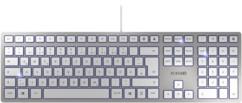 Clavier USB ultra-plat KC 6000 Slim - Argent
