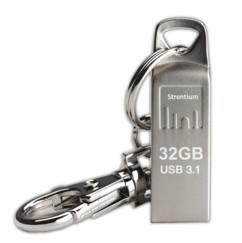 clé usb 3.1 en métal stontium ammo 32 go avec porte-clé et transferts ultra-rapides