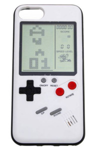coque iphone 6 7 8 forme gameboy avec veritable console retro intégrée ORB Gaming