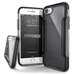 Coque renforcée pour iPhone 7 / 8 : Defense Clear - Noir