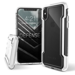 Coque renforcée pour iPhone XS Max : Defense Clear - Transparent