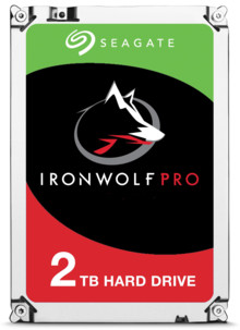 Disque dur 3.5 Seagate Iron Wolf Pro - 2 To - 128 Mo