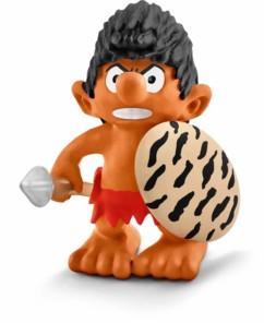 Figurine Les Schtroumpfs dans la jungle : le Schtroumpf autochtone