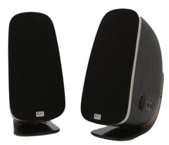 paire de haut-parleurs altec lansing curved 2.0 20W pour PC audio haut de gamme