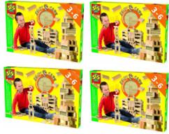 Jeu de construction avec 168 cubes en mousse SES Creative