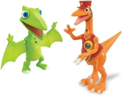 Jouet interactif Dino Train : Pack 2 personnages