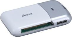 lecteur de cartes memoire sd ms cf micro sd akasa AK-CR-05U3SL