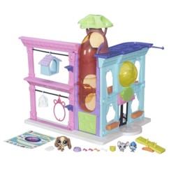 jouet filles magasin des petshop B5478 pour 30 figurine avec 3 animaux nutmeg dash noggle murino balmy azure