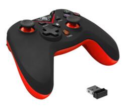 manette de jeu pour pc et ps3 playstation3 spirit of gamer xpg rouge longue autonomie