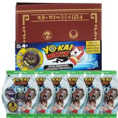 Medallium Yo-Kai Watch + 6 sachets de 3 médailles
