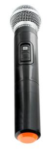 Micro sans fil à ondes radio porthland pour enceintes ibiza sound