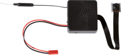 mini caméra de surveillance furtive full hd avec batterie externe et antenne wifi mcf-1080.w somikon