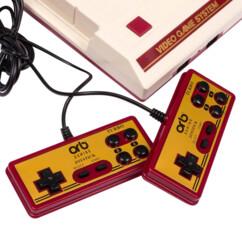 mini console retrogaming de salon style Mini NES Nintendo avec 2 manettes usb et 400 jeux 16 bits couleur orb gaming