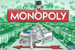 monopoly classique avec pions métal chien chat rues gares jeu famille