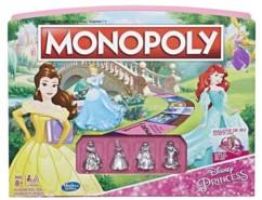 jeu de société pour fille monopoly princesses disney avec pions cendrillon belle ariel raiponce