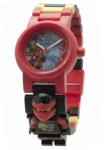 montre bracelet enfant LEgo modifiable ninjago avec figurine kai