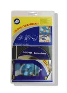 kit nettoyant pour lentilles optiques lecteurs cd et lingettes pour cd rom AF