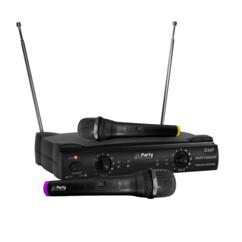 Pack de 2 micros UHF sans fil Party-200UHF Karaoké