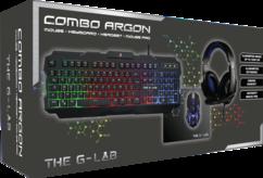 pack argon gaming complet avec casque gaming korp100 souris gaming kult110 clavier retroeclairé et souris pad pro g-lab