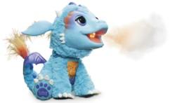 figurine bébé dragon torch avec fausse flamme et visage animé Furreal friends