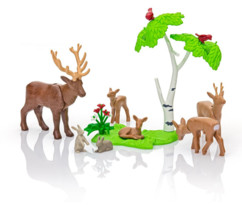 Playmobil collection Country : La famille de Cerfs (6817)