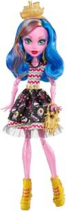 poupée monster high gooliope jellington fille géante en gelée rose costume corsaire