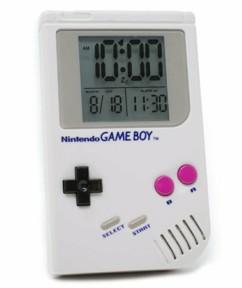Réveil digital rétro-éclairé Game Boy