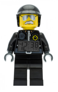 Réveil pour enfant Lego The Movie - Bad Cop 24 cm