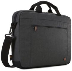 sacoche avec bandouliere rembourré pour notebook ultrabook 14 pouces avec laniere pour trolley era114 case logic