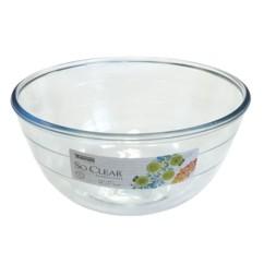 saladier classique en verre 21 cm diametre contenance 2l so clear thomas