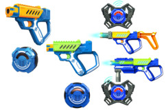 Sets 4 joueurs de laser game Battle OPS Lazer M.A.D : Base + Advance