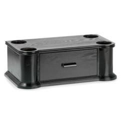 support en bois pour jukebox rr950 ricatech avec tiroir range cd rjs101
