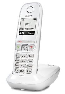 Téléphone fixe sans fil DECT Gigaset AS470 - Blanc