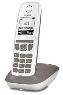 Téléphone fixe sans fil DECT Gigaset AS470 - Taupe