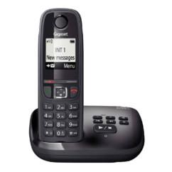 Téléphone fixe sans fil DECT Gigaset AS470A - Avec répondeur - Noir