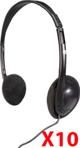 10 casques audio filaires Skyfield LX-911