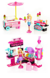 2 Barbies Build'n Style