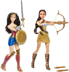 2 figurines articulées Wonder Woman