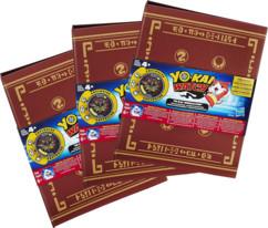 3 classeurs Medallium Yo-Kai Watch