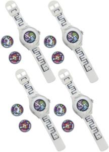 4 montres parlantes Yo-Kai Watch