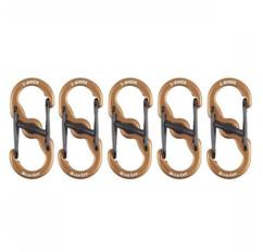 Lot de 5 mousquetons S-Biner MicroLock.