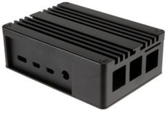 Boîtier aluminium pour Raspberry Pi 4 Modèle B / dissipateur et pâte thermique