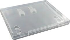 Boîtier transparent pour 2 clés USB