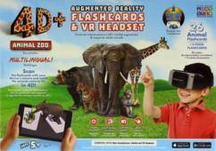 Casque VR avec cartes de réalité augmentée 4D+ Zoo