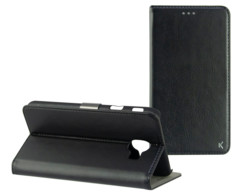 Coque de protection avec clapet folio pour Samsung Galaxy J4+