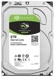 Disque dur SATA 3,5'' Seagate BarraCuda - 6 To